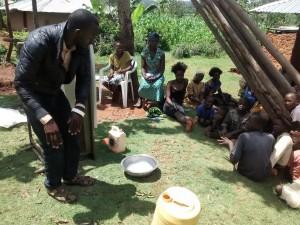 The Water Project : 12-kenya4715-demonstrating-hand-washing