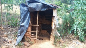 The Water Project : 12-kenya4743-traditional-latrine