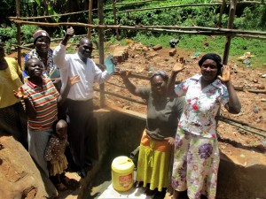 The Water Project : 26-kenya4706-protected-spring