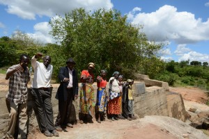 The Water Project : 28-kenya4756-finished-sand-dam