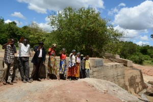 The Water Project : 29-kenya4756-finished-sand-dam