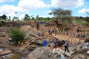 The Water Project : 29-kenya4760-construction