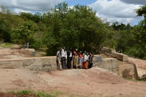 The Water Project : 30-kenya4756-finished-sand-dam