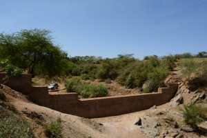 The Water Project : 30-kenya4760-finished-sand-dam