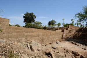 The Water Project : 31-kenya4760-finished-sand-dam