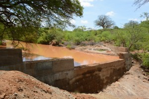 The Water Project : 32-kenya4759-finished-sand-dam