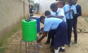 The Water Project : 33-kenya4639-hand-washing