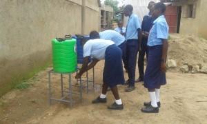 The Water Project : 34-kenya4639-hand-washing