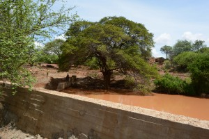 The Water Project : 34-kenya4759-finished-sand-dam