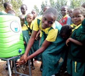 The Water Project : 36-kenya4638-hand-washing