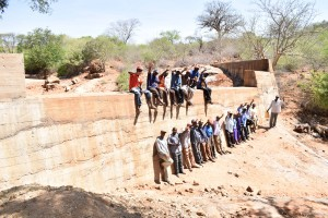 The Water Project : 36-kenya4759-finished-sand-dam