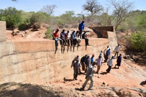 The Water Project : 38-kenya4759-finished-sand-dam