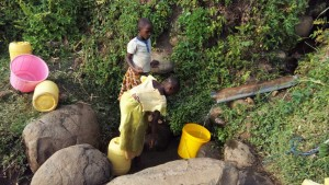 The Water Project : 4-kenya4743-fetching-water
