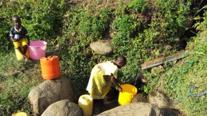 The Water Project : 5-kenya4743-fetching-water