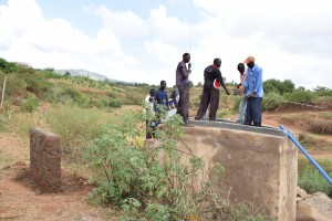 The Water Project : 9-kenya4780-well-construction