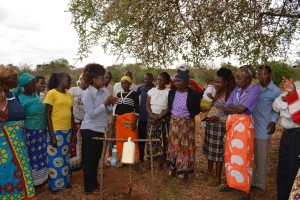 The Water Project : 16-kenya4763-review-training