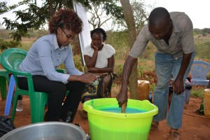 The Water Project : 24-kenya4763-review-training