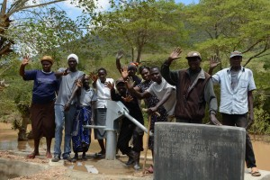 The Water Project : 32-kenya4782-finished-well