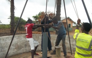 The Water Project : 36-sierraleone5106-drilling