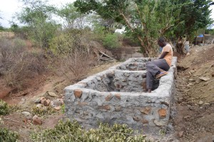 The Water Project : 37-kenya4763-well-construction