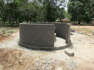 The Water Project : 42-sierraleone5107-building-well-pad