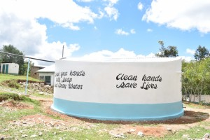 The Water Project : 47-kenya4803-finished-tank