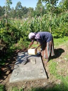 The Water Project : 15-kenya4717-finished-sanitation-platform